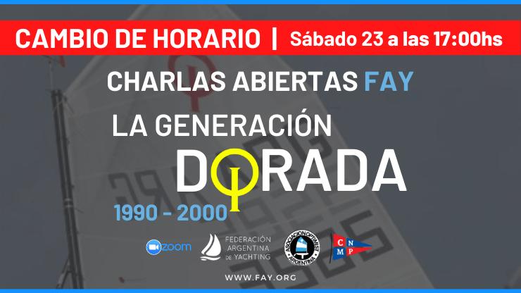 Charla Abierta FAY - Generación Dorada - 23-5 - Campeones Optimist