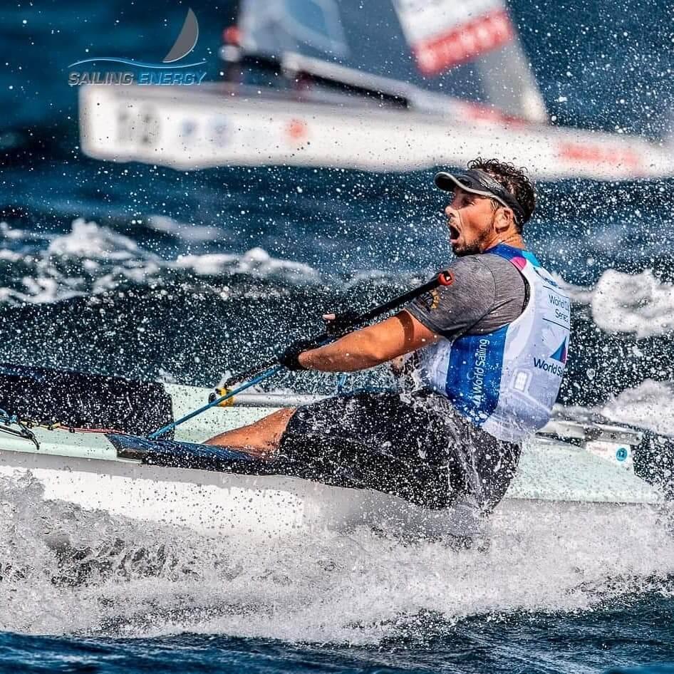 Facundo Olezza - Campeonato Europeo de Finn