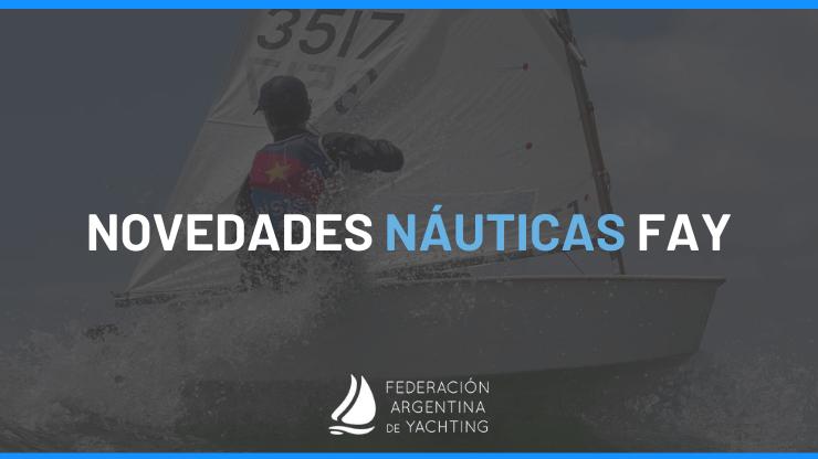 Novedades Nauticas FAY - Caratula