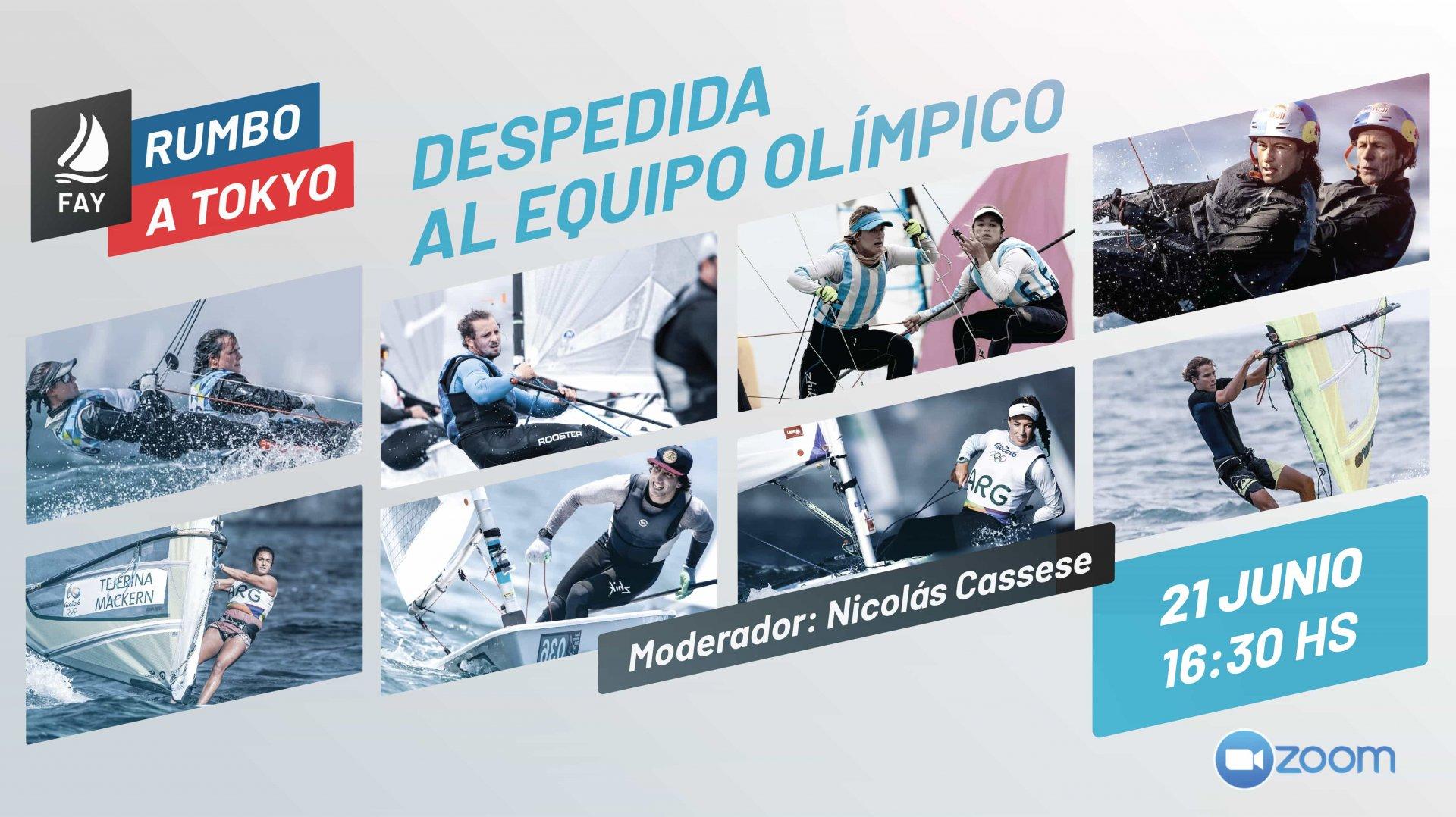Despedida a Deportistas Olimpicos - FAY