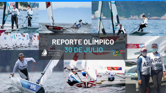 Reporte Olímpico - 30 de Julio