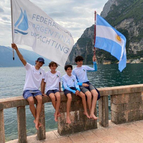 Campeonato Mundial de Cadet - Italia 2021- Delegacion Argentina