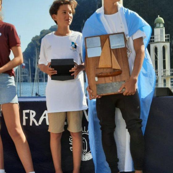 Campeonato Mundial de Cadet - Italia 2021- Entrega de Premios