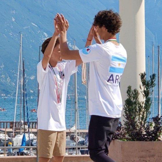Campeonato Mundial de Cadet - Italia 2021- Finsterbush y Barone campeones