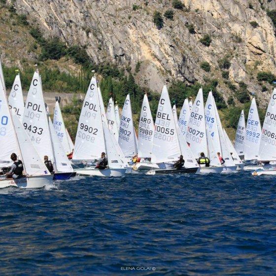 Campeonato Mundial de Cadet - Italia 2021 - barcos