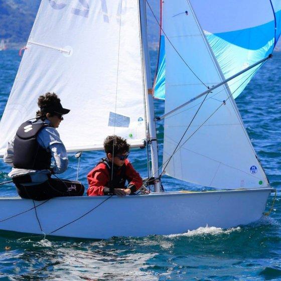 Campeonato Mundial de Cadet - Italia 2021 - barcos campeon