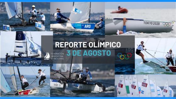 Reporte Olimpico - Tokyo 2020 - 3 de Agosto